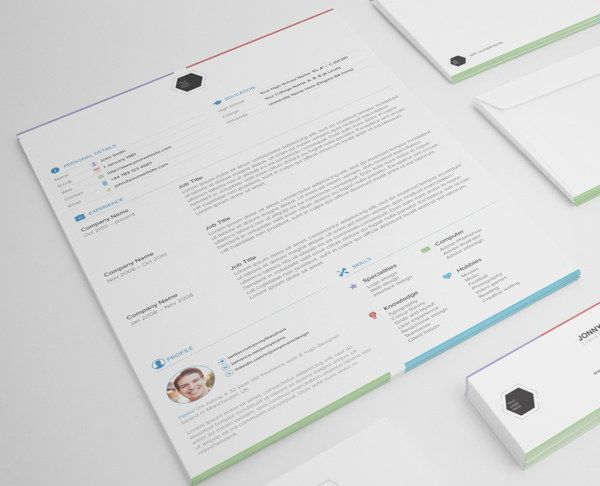 27 Beautiful Résumé Designs Youu0027ll Want To Steal Resume - colorful resume template free download