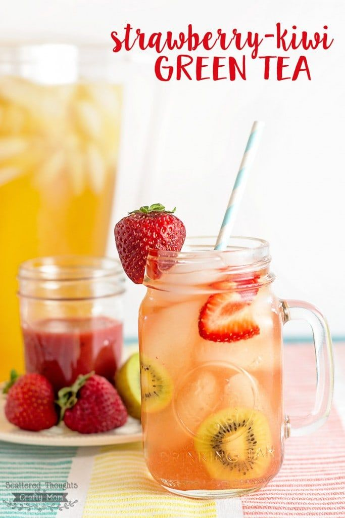 Photo of DIY Strawberry-Kiwi Green Tea Recipe