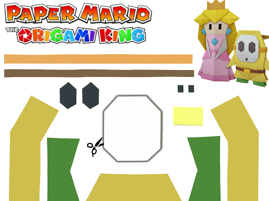 Paper Mario The Origami King Free Print Out Free Prints Paper Mario Nintendo Crafts