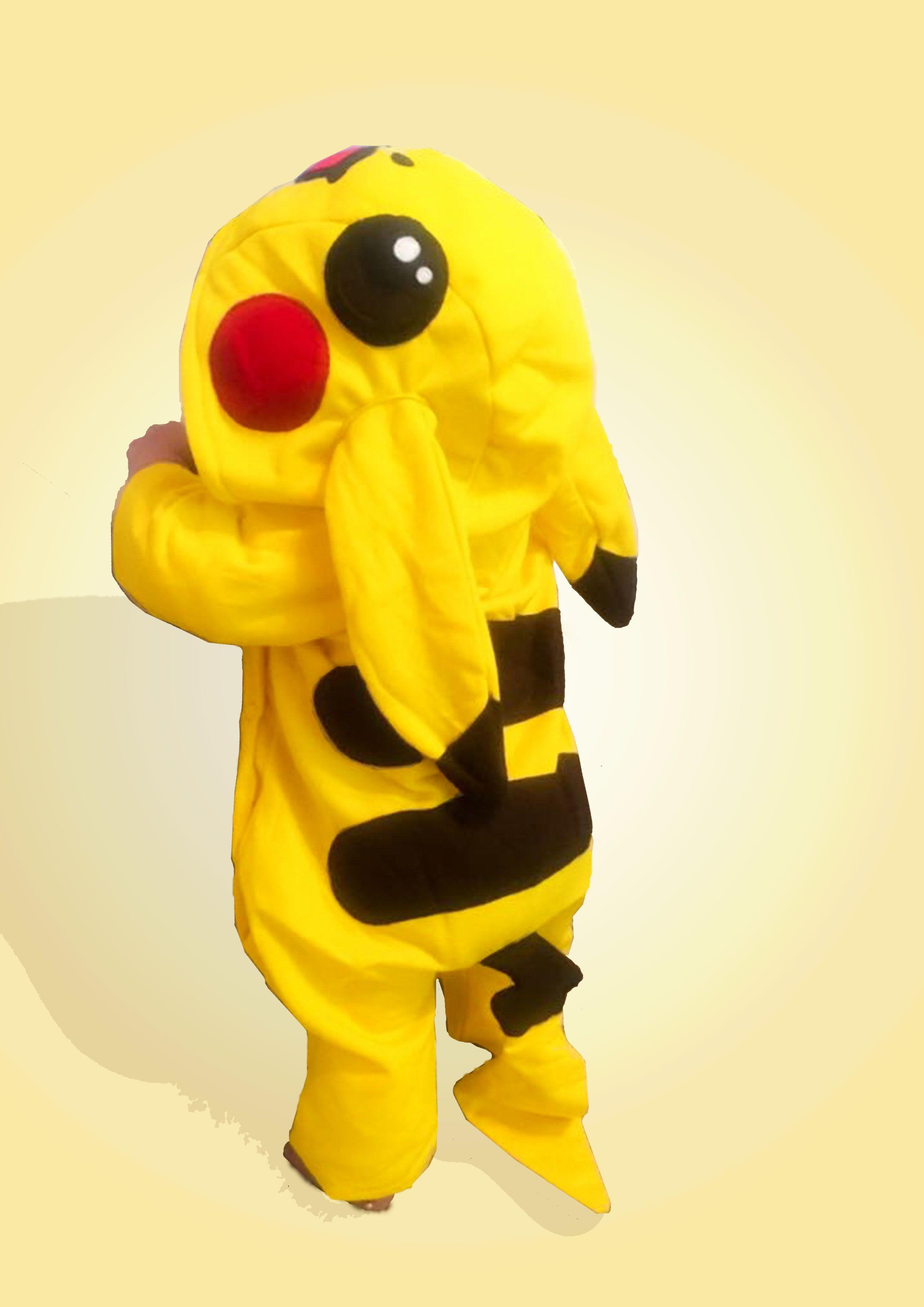 pokemon halloween pikachu baby costume onesie size 18 - 24m / 2t