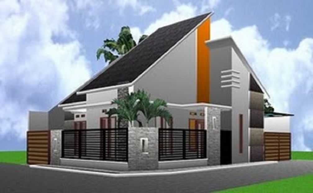 Desain Atap Rumah Minimalis Miring Modern Pin9a Di 2019 House