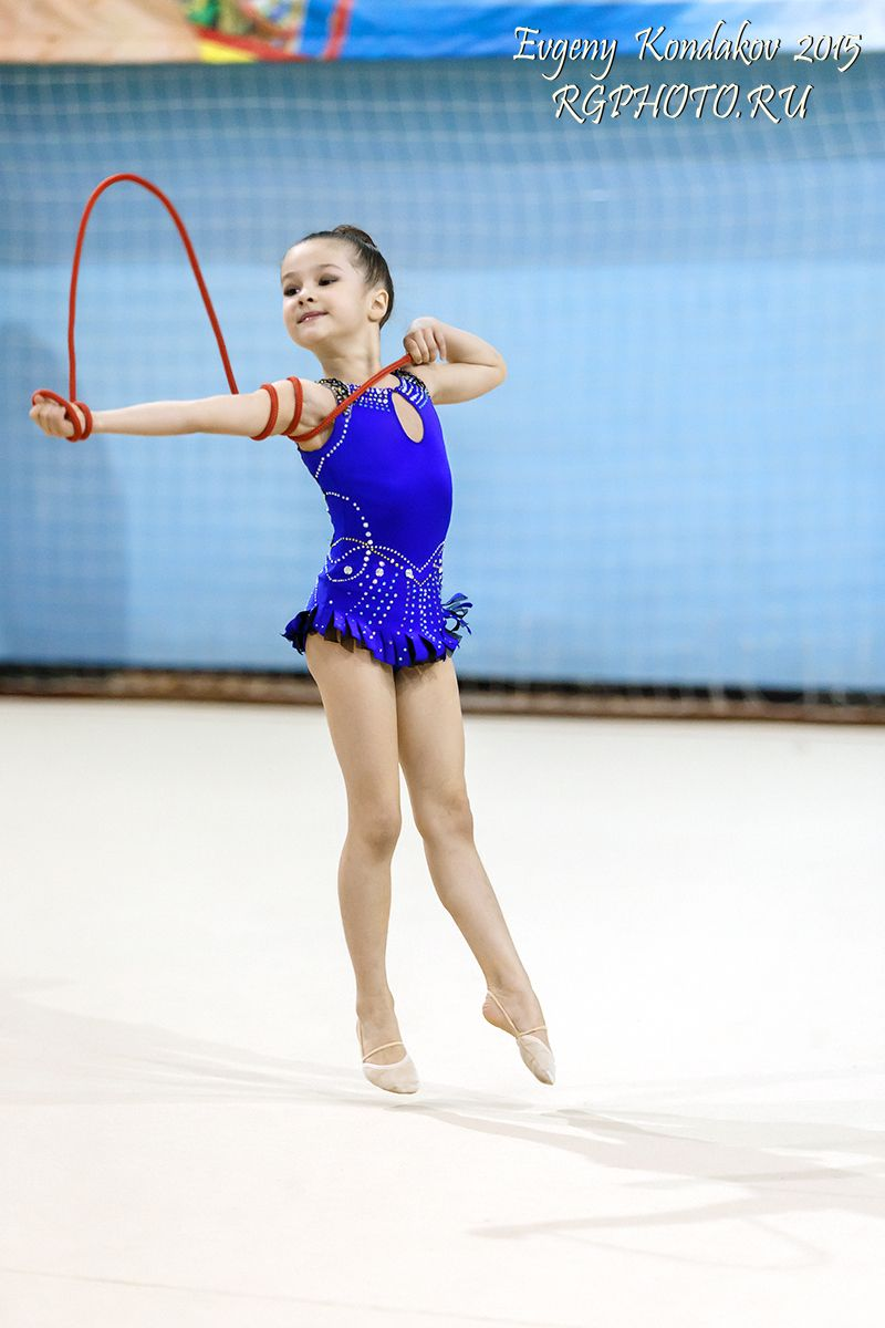 gymnastic junior Gymnastics. Varvara Golubeva, Russia, junior