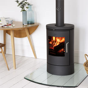 MORSO 6140 Convector Well Designed Classic Wood Burning Stove With  Beautiful Curves Morsø 6140 Is