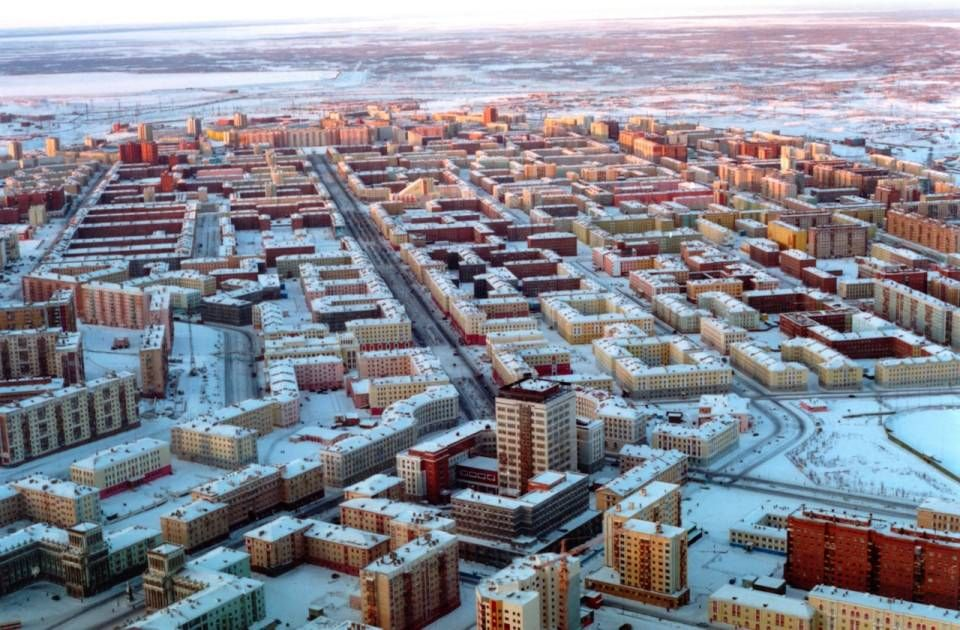 City of Norilsk Russia UrbanHell Pinterest Russia