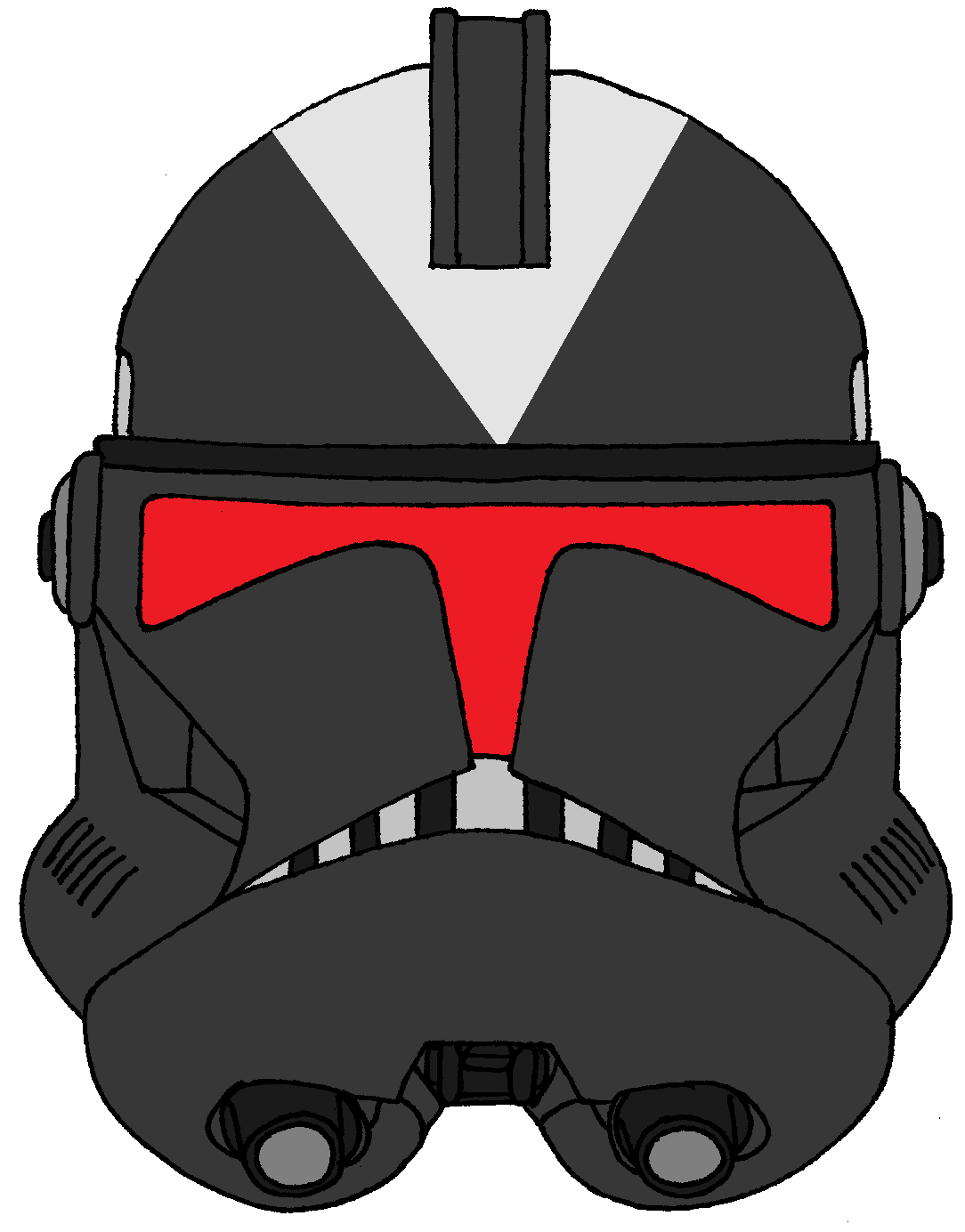 Clone Trooper Helmet Shadow Troopers Star Wars Artwork Star Wars Helmet Star Wars Baby