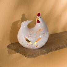 La poule photophore.