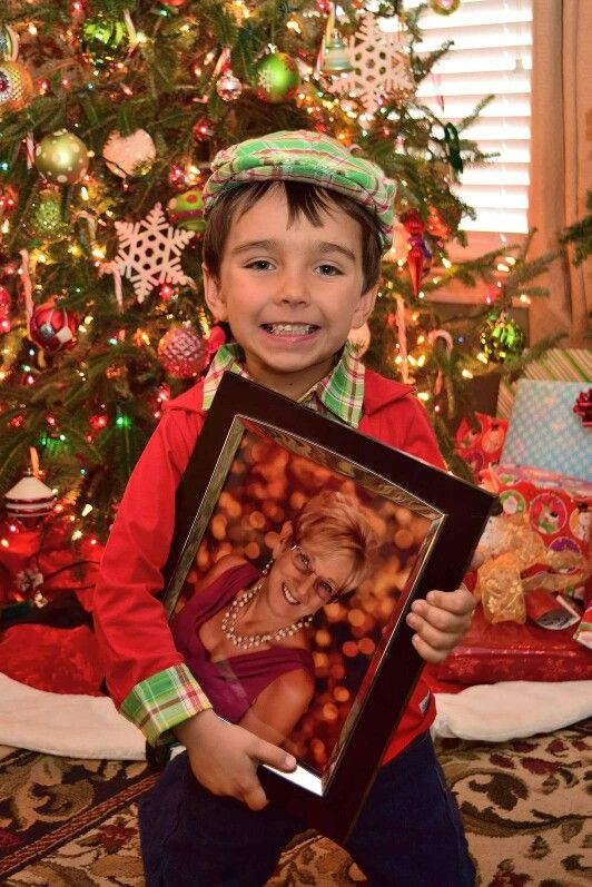 This is Payton's 1st Christmas without Meme! What a great way to remember her.