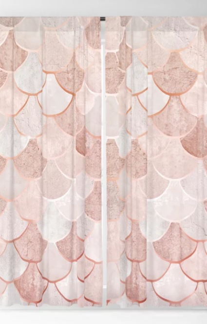 Beautiful Rose Gold Pink Bedroom Decor Black Out Curtains Available In Two Sizes 50 W X 84 H 5 Rose Gold Curtains Gold Bathroom Decor Rose Gold Bedroom