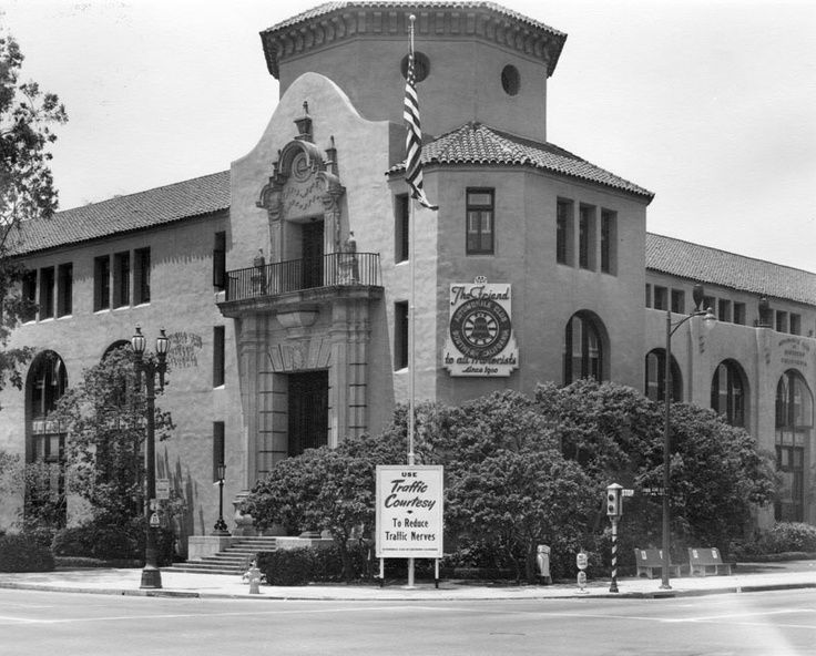 One Of My Favorite Buildings In Los Angeles Is The Spanish Colonial Revival Headquarters Of The Los Angeles Architecture California History Vintage Los Angeles