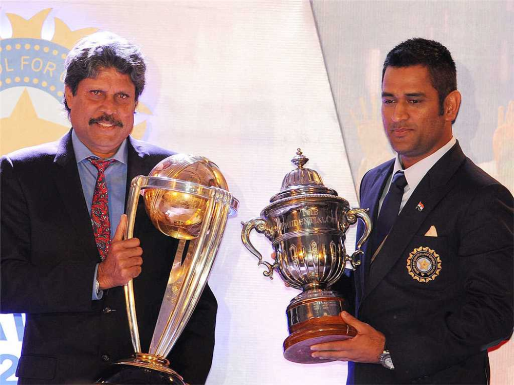 New Look Inspired By Heroes Viv Richards And Ms Dhoni Kapil In 2020 Kapil Dev Dhoni Wallpapers Ms Dhoni Wallpapers