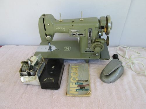 Necchi BU Mira Sewing Machine And Attachments Sewing Machines Inspiration Necchi Bf Mira Sewing Machine