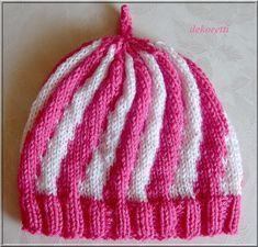 Photo of … aus Wolle in wunderschönen Bonbonfarben sind diese tollen Babymützen. Dafür …