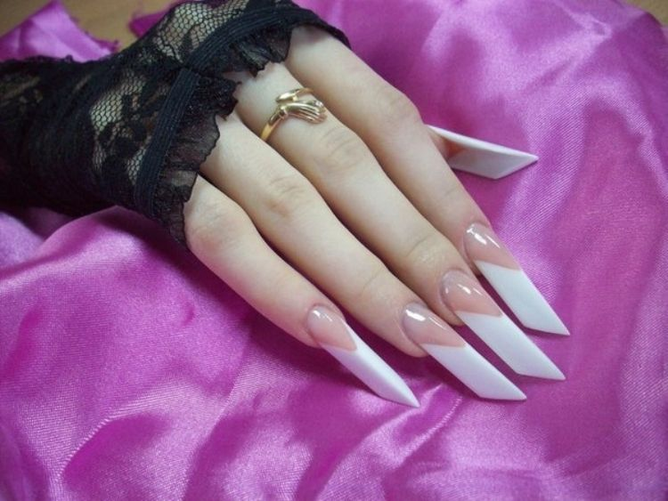 Bridal Women Stylish Nail Art Design 2014 15 9