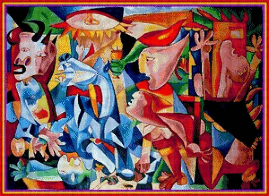 guernica color п�едп�о�мо�� pablo picasso pinterest