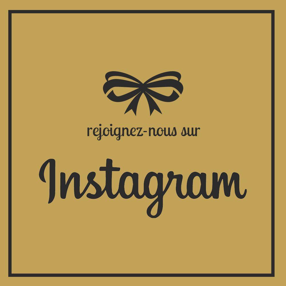 Rejoignez-nous sur Instagram ! dariluxe.fr