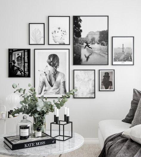 Zo combineer je prints & posters bij elkaar