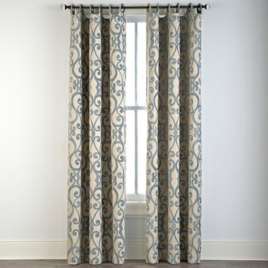 Palais Grommet Top Curtain Panel Jcpenney Grommet Top Curtains