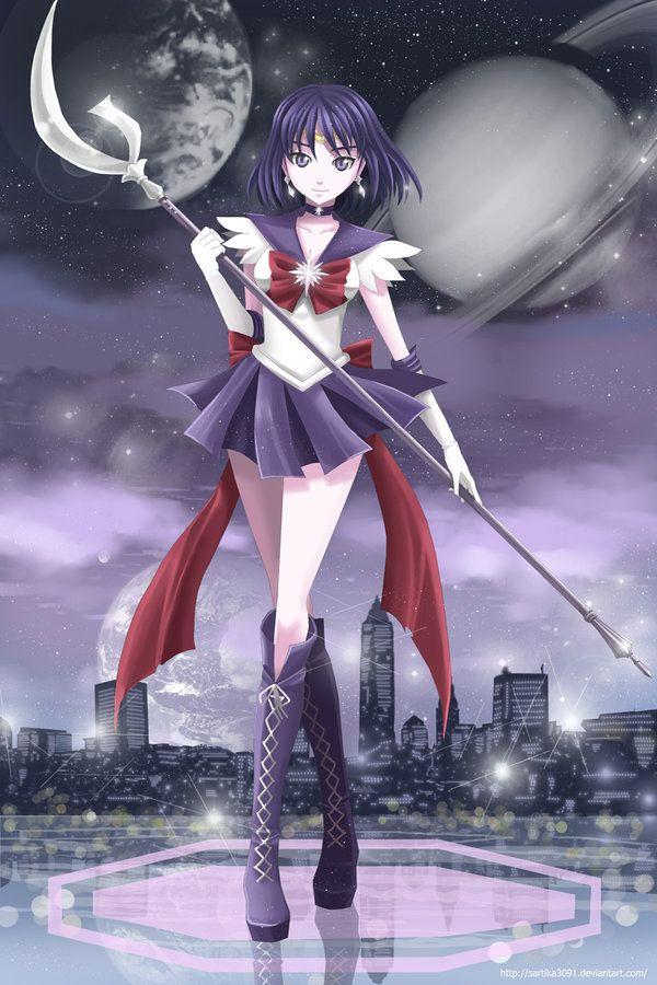 Sailor Saturn by Sartika3091 on deviantART   Sailor Saturn   Sailor saturn, Sailor moon girls ...