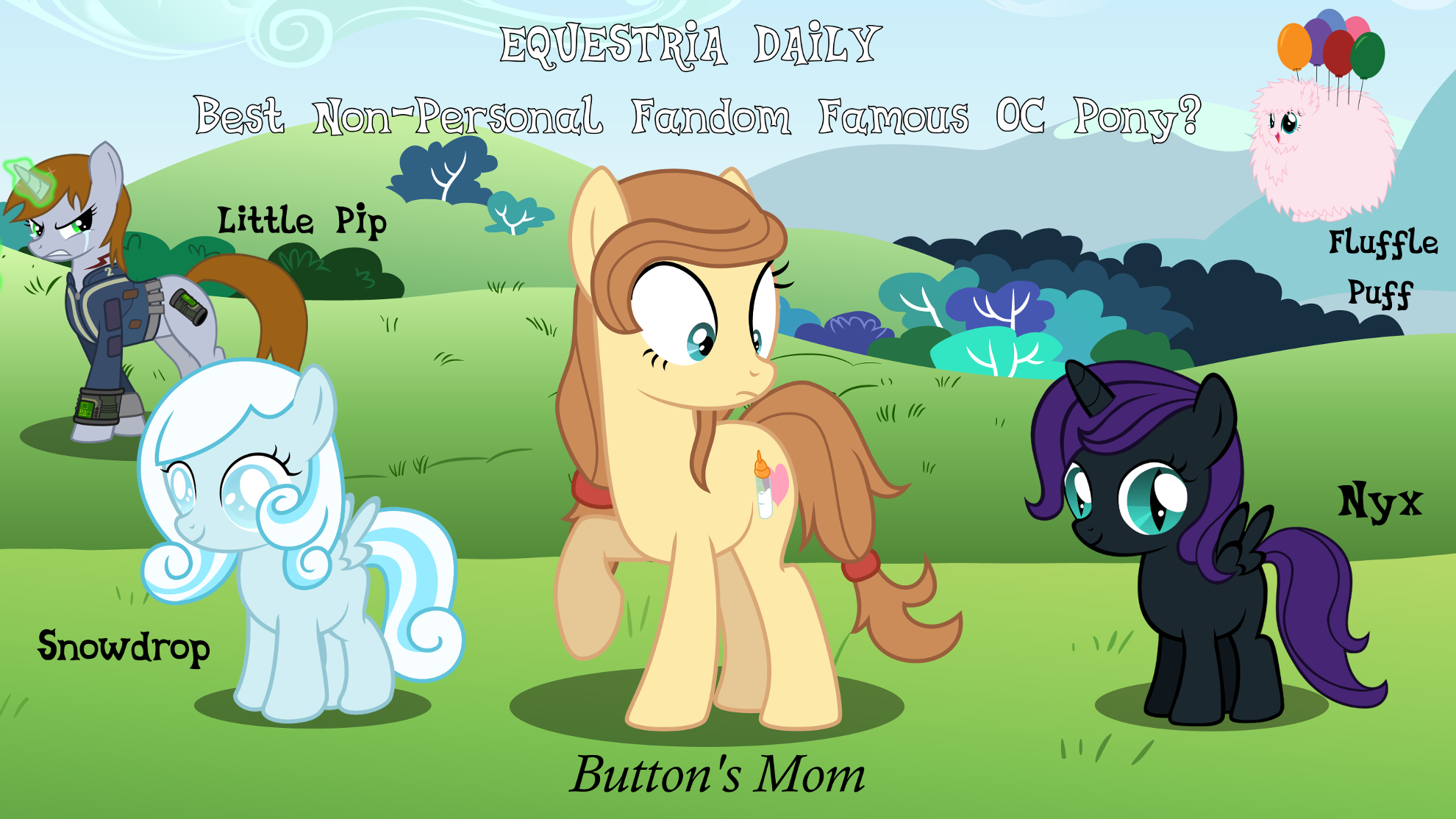 BUTTON'S MOM ALL THE WAY!!!