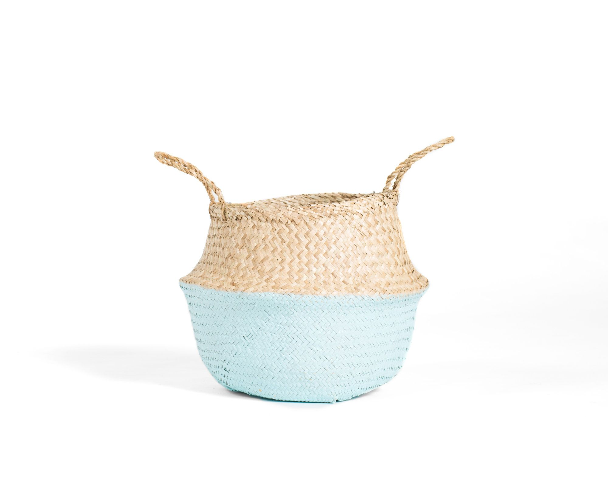 Handmade And Carefully Woven From Natural Material, These Eco Friendly  Baskets Look Playfully Cute And Lend Bountiful Storage Space Around The  Home.
