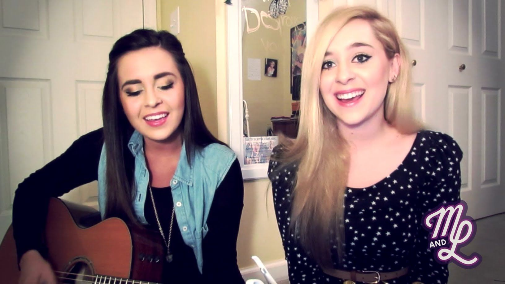 """Taylor Swift """"I Knew You Were Trouble"""" by Megan and Liz"""