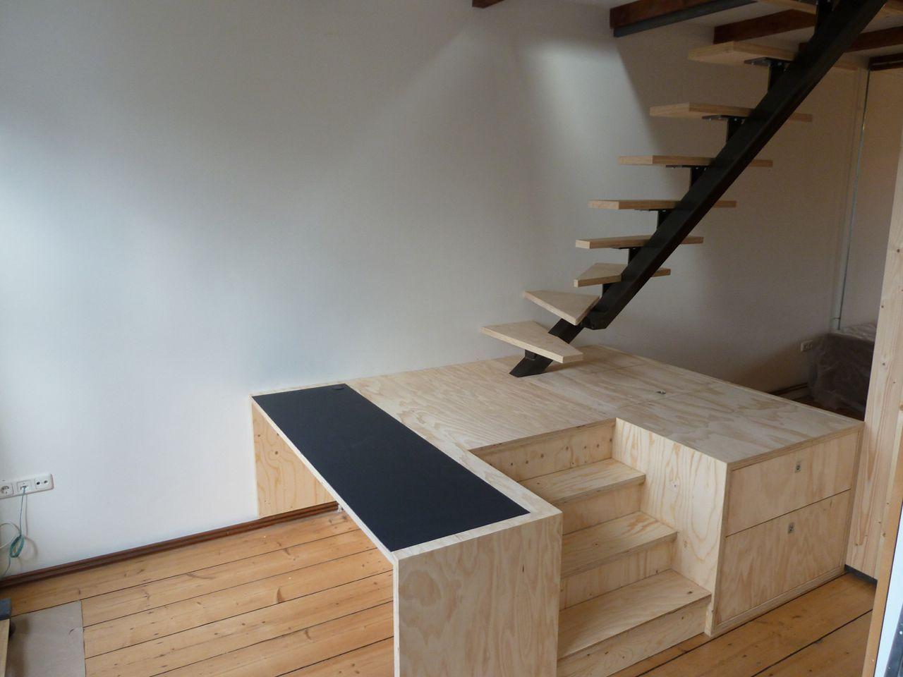 Trap bureau kast en commode in één. huis pinterest stairs