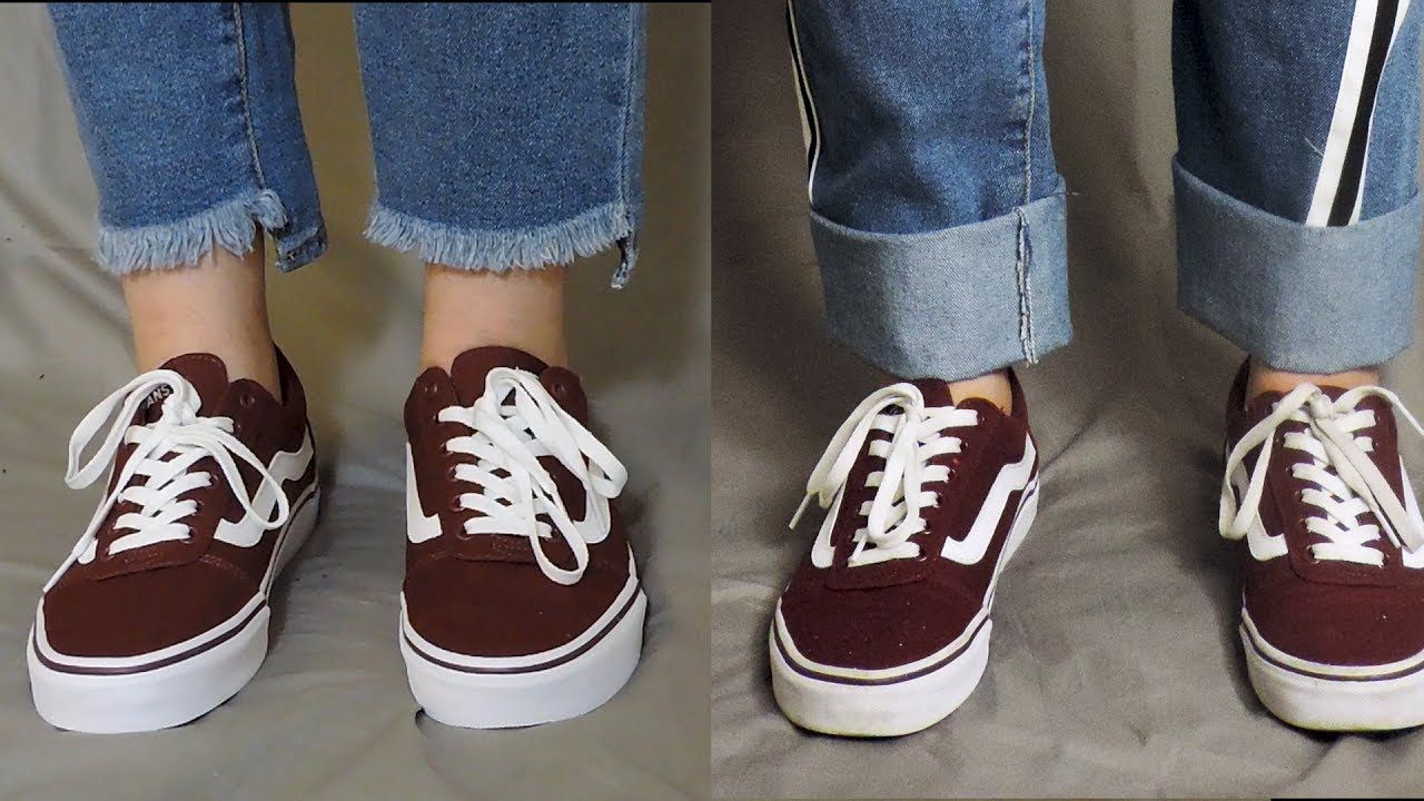 How to lengthen jeans with a fake cuff diy jeans