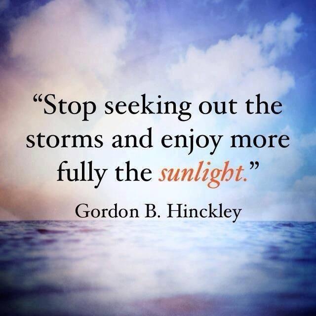 Stop seeking