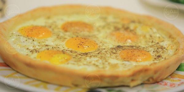 Cbc Sofra طريقة تحضير بيتزا بيض عيون نجلاء الشرشابي Recipe Recipes Breakfast Food