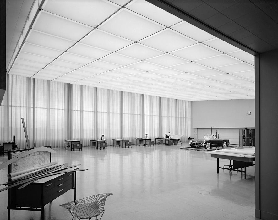 Ezra Stoller - General Motors Technical Center, Eero Saarinen, Warren, MI, 1955