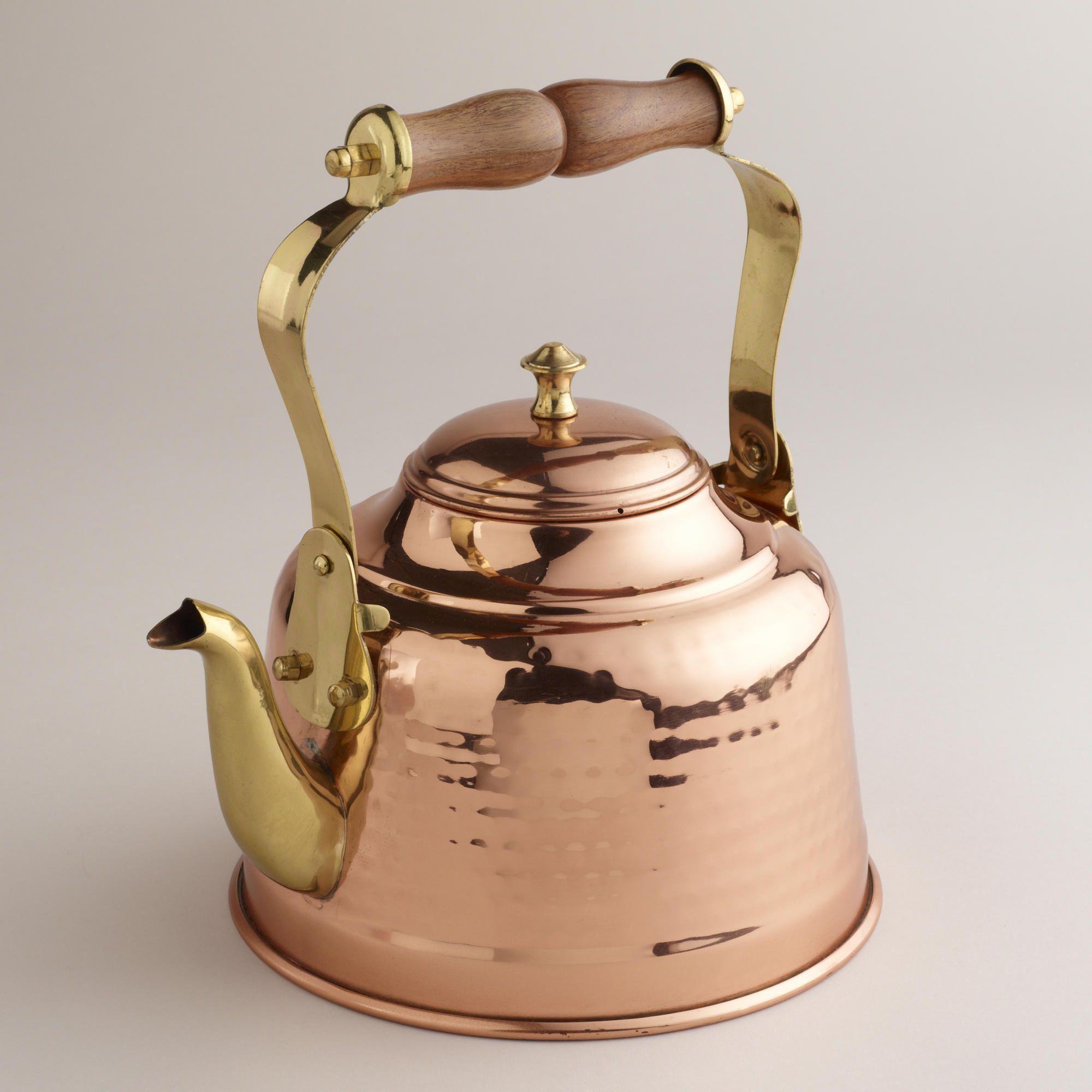Hammered Copper Tea Kettle soooo beautiful, but sadly