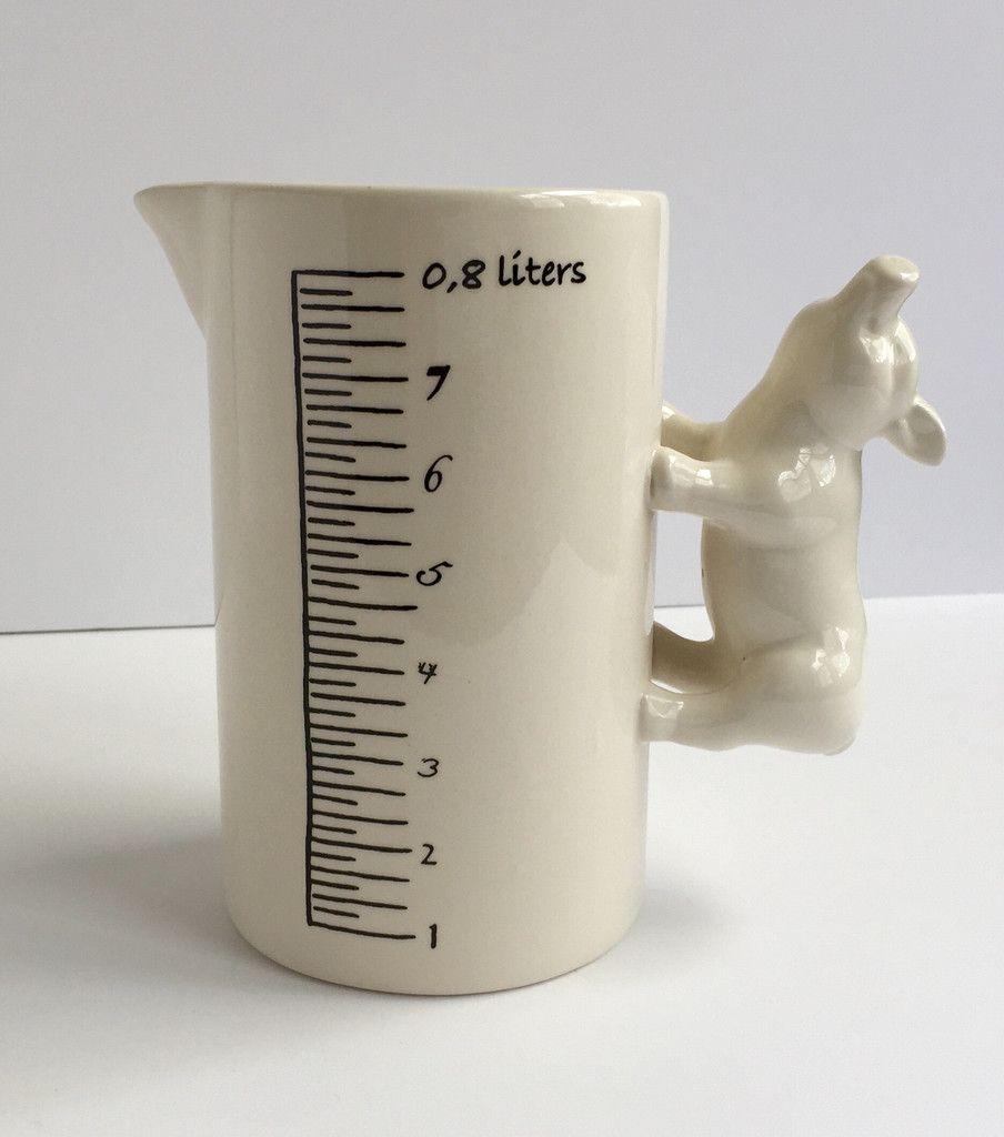 Pig Porcelain Measuring Cup  Porcelain, Measuring cups, Cup