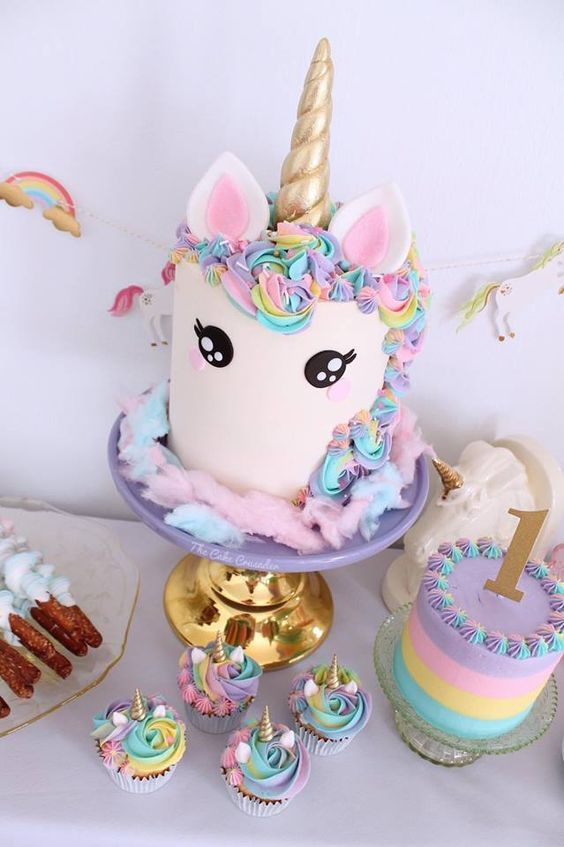 Unicorn cake BABY FIESTA Pinterest Unicorns Cake and Unicorn