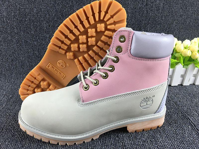 Timberland Womens Boots Pink Gray Wheat,Fashion Winter Timberland Women Shoes,New Timberland 2016