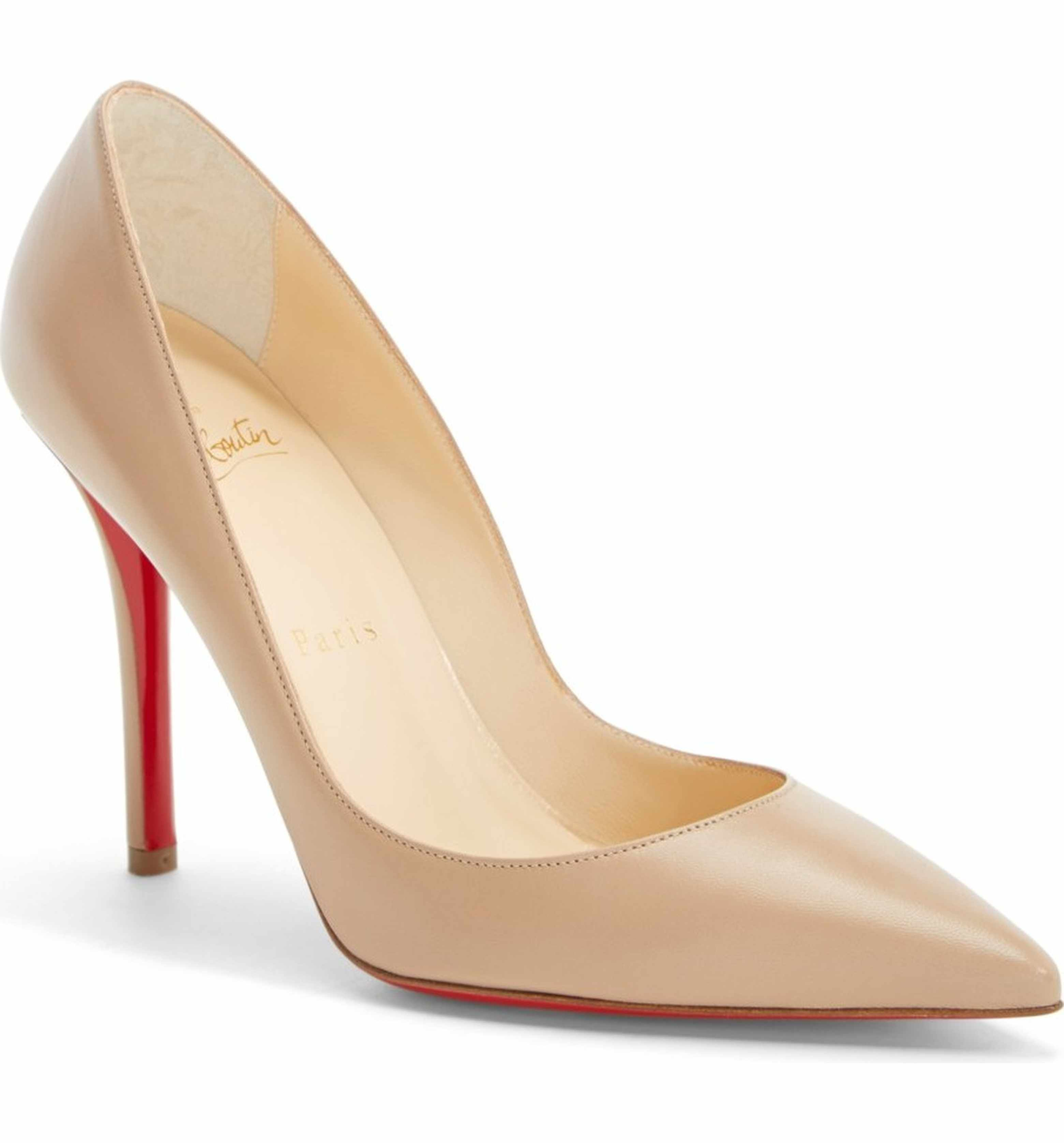 f1cc4741d1e Main Image - Christian Louboutin 'Apostrophy' Pointy Toe Pump ...