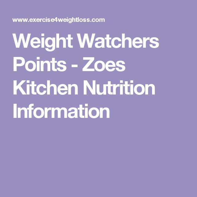 Zoes Kitchen Menu Nutrition: Zoes Kitchen Nutrition