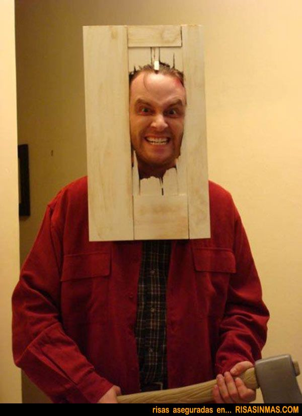 Disfraz Jack El Resplandor Homemade Halloween Costumes Cool Halloween Costumes Diy Halloween Costumes Easy
