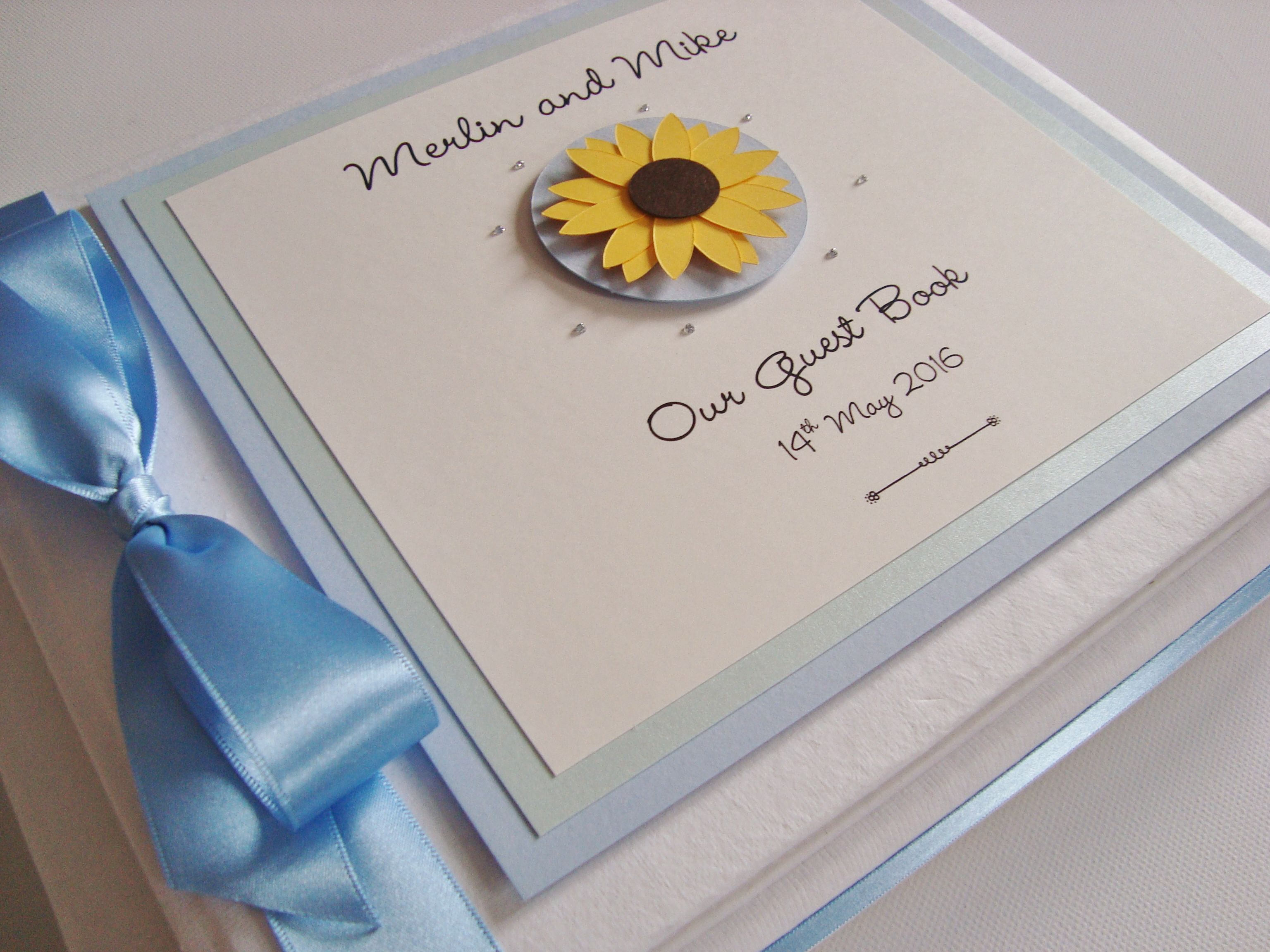 Sunflower Guest Book