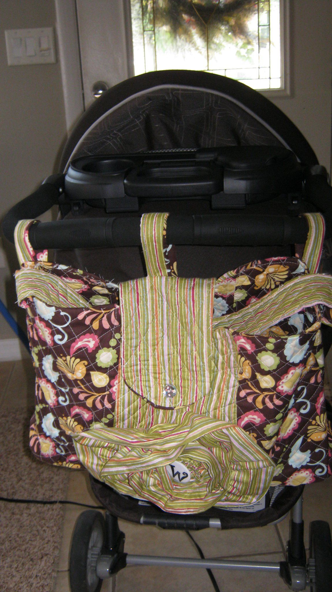 stroller bag....perfect for shopping and library trips