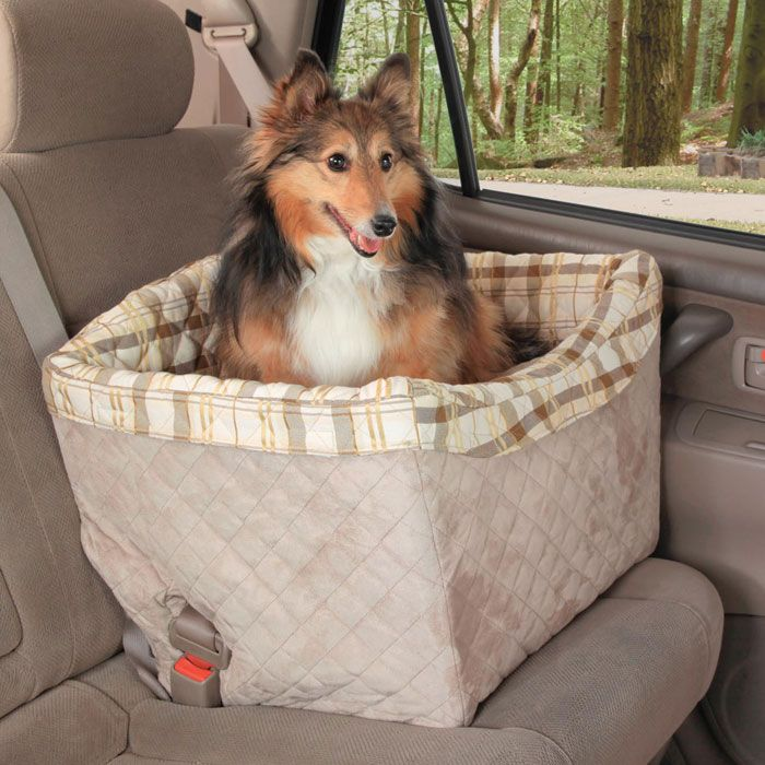 Deluxe Tagalong Booster Seat Jumbo Up To 35 Lb Solvit Seats Provide A Safe And Comfortable Ride For Pampered Pets