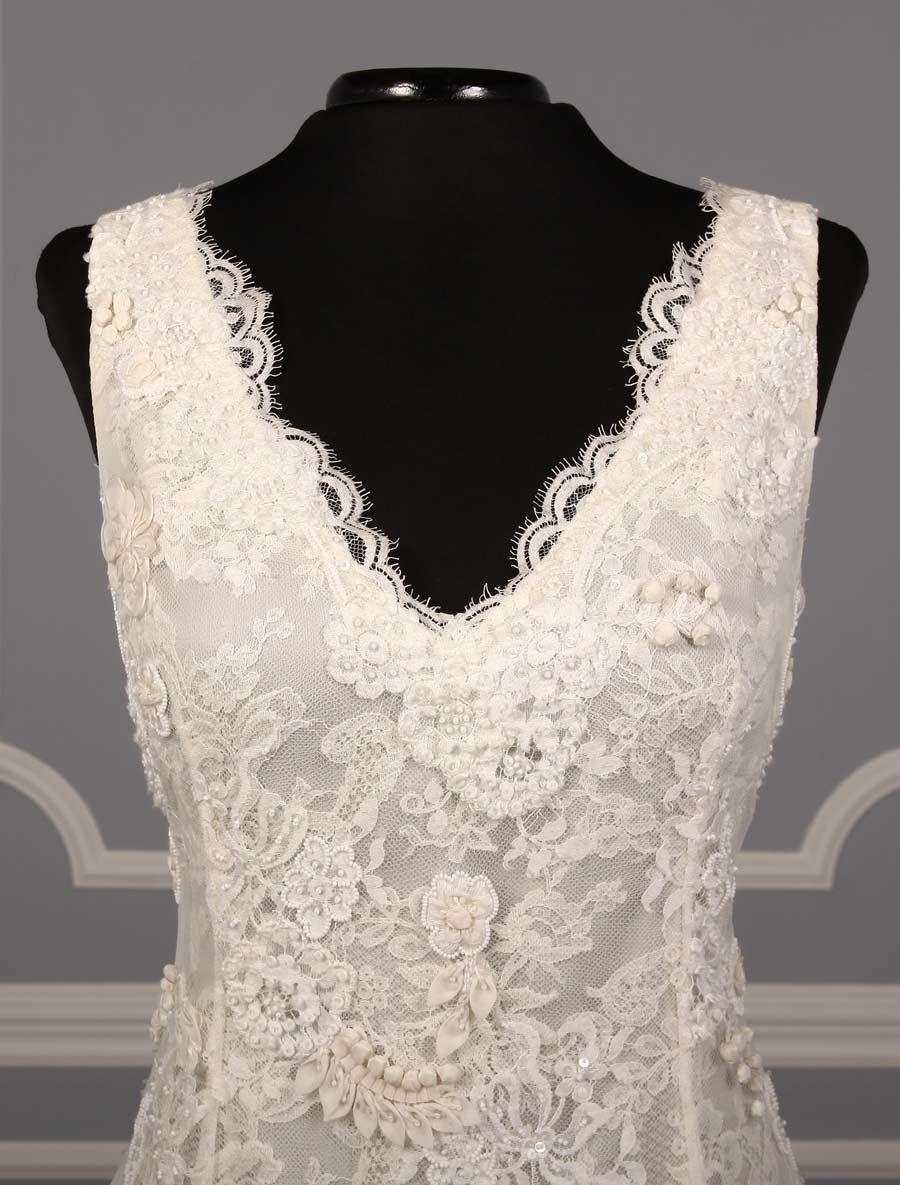 Oscar De La Renta Drew 66E58 Discount Designer Wedding Dress
