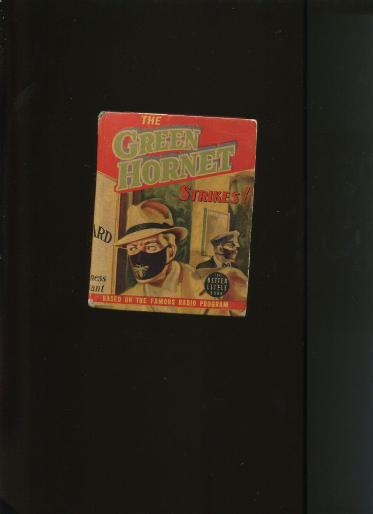 from $49.97 - The Green Hornet Strikes! Big Little Book #1453 (6.0)