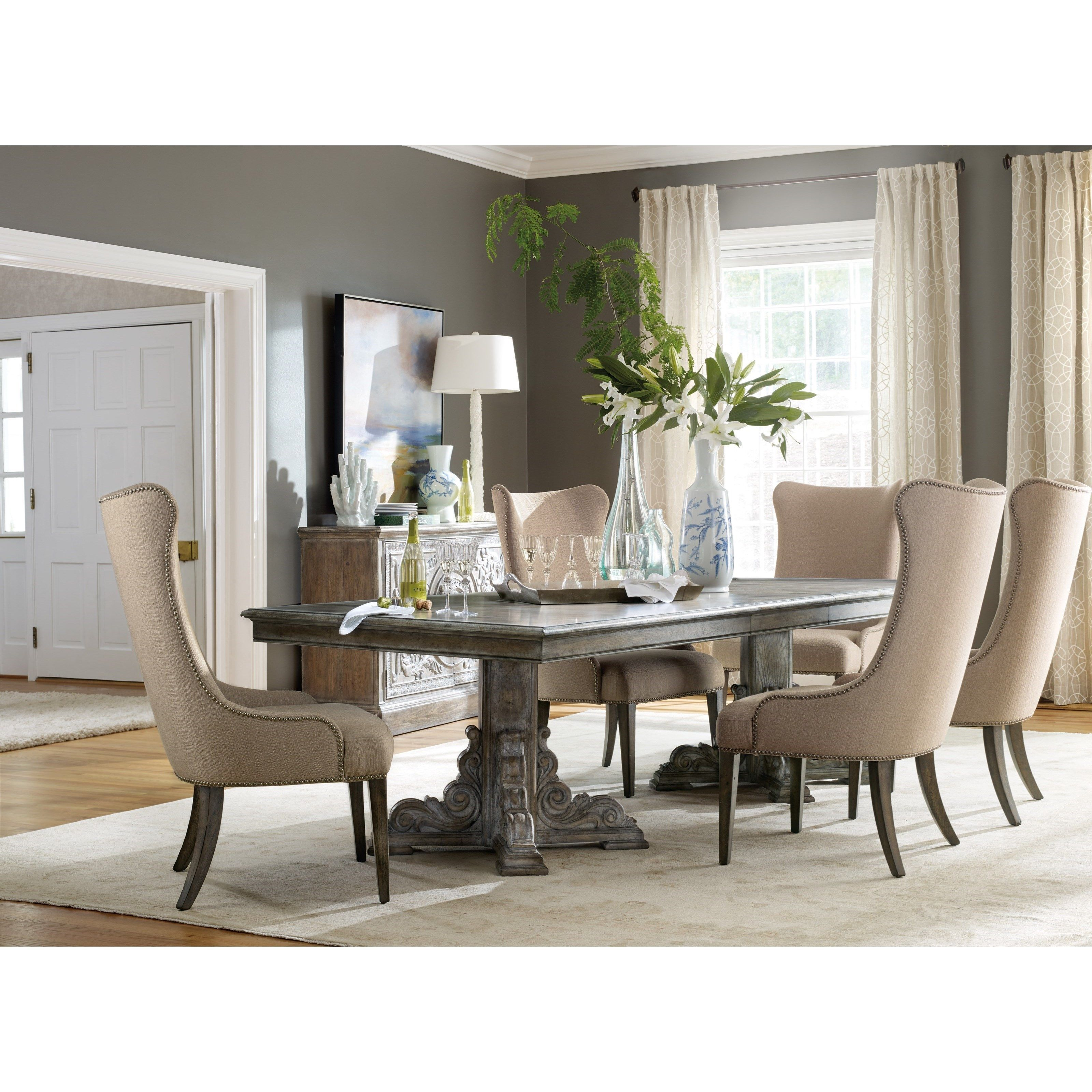 Hamilton Home True Vintage Rectangle Dining Table With Leaves