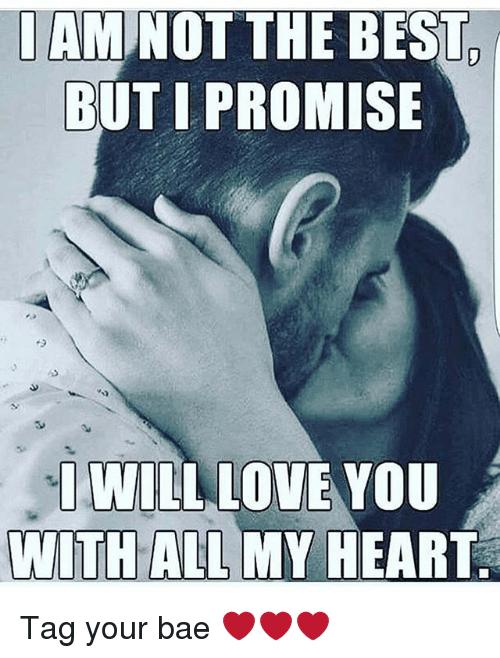 Via Me Me Bae Meme Love You With All My Heart