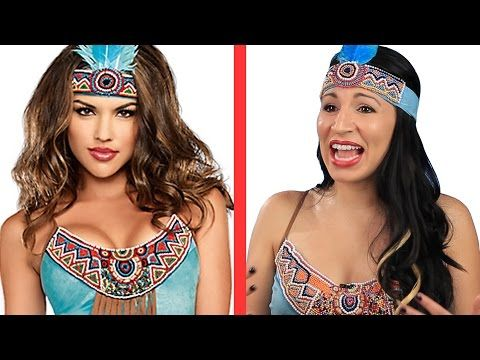 "Oh Boy! Native Americans Try On ""Indian"" Halloween Costumes"