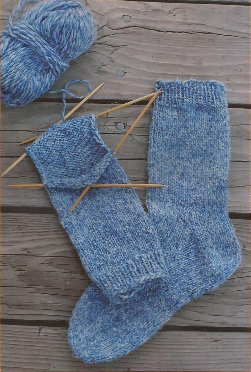 Beginner Socks - Knitting Pure & Simple Knitting Pattern ...