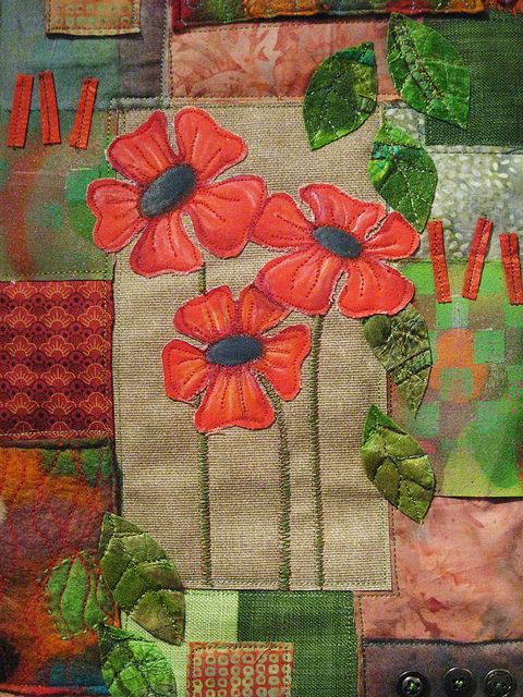 Poppy patchwork | Flickr - Photo Sharing!