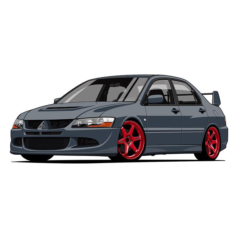 Nissan Gtr Vector Print On Behance Car Cartoon Car Illustration Car