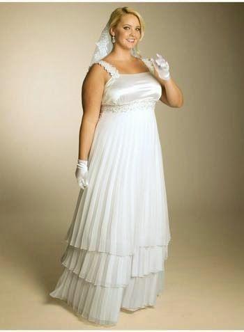 Vestidos Para Novias Bajitas Y Gorditas Para Gorditas Ropa Maquillaje Peinados Dietas Wedding Dresses Wedding Dress Chiffon Plus Size Wedding