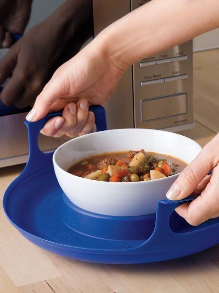 Protect Your Fingers And Hands When Lifting Hot Dishes Out Of The Microwave Stay Cool Pad Handles Make It Safe Easy To Lift Plates Bowls